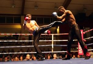 photos gala de boxe savate à Blagnac