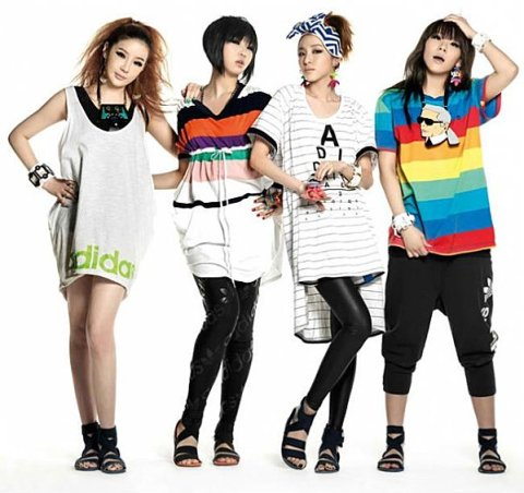 2NE1 au Japon.
