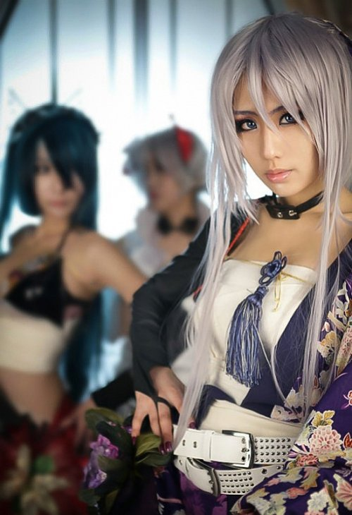 sexy vocaloid knife cosplay 07