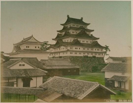 Château de Nagoya, 1880