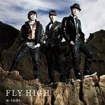 """W-inds """"Fly High""""- jaquette."""