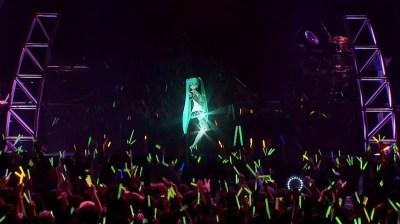 Hatsune Miku en concert