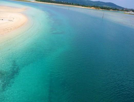 Plage d'Eef, Kumejima, Okinawa.