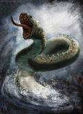 Jormungand, mythologie nordique.