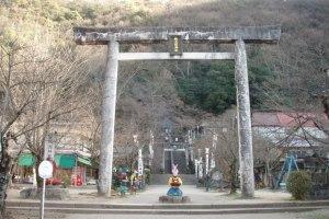 Temple momotaro, Takamatsu, Kagawagen.