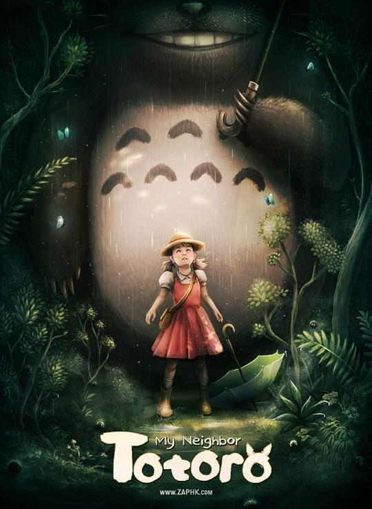 Totoro, redesign par ZAPHK
