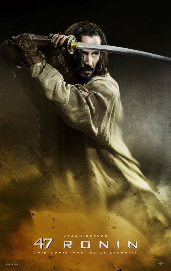 47 ronins affiche Keanu Reeves