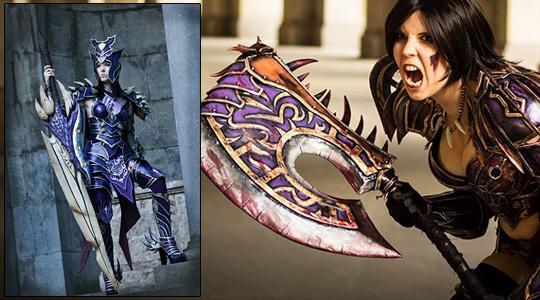 Lightning-et-Kamui-cosplay