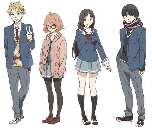 kyoukai no kanata | personnages