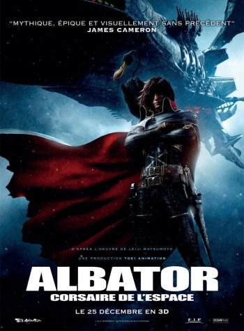 Albator 3D affiche du film