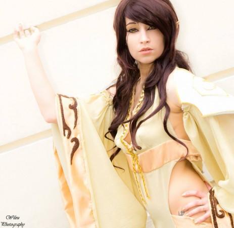 Nouna cosplay - Elfe - warcraft - par Lilou photography