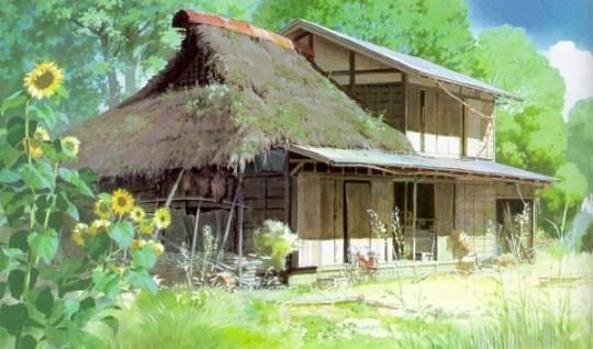 Maison dans Pompoko.