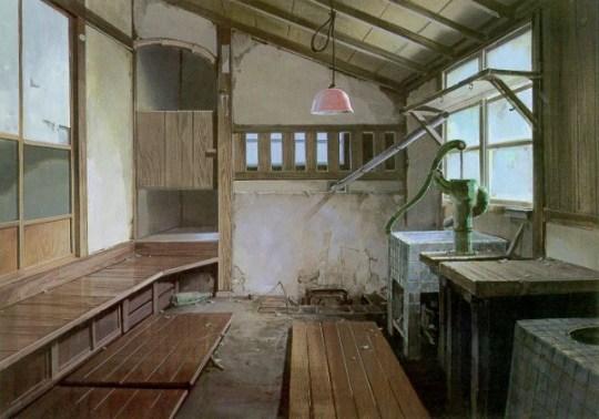 Intérieur de maison dans Totoro.