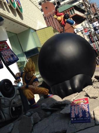 San goku vs Luffy 2