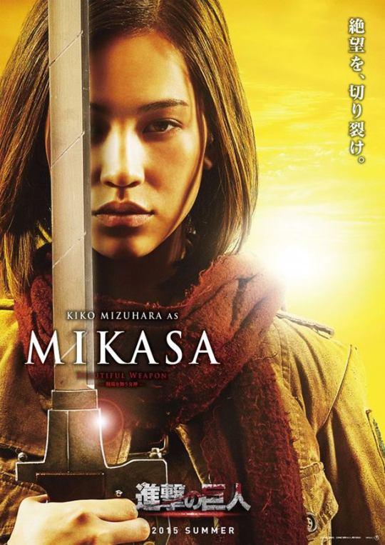 Kiko Mizuhara - Mikasa