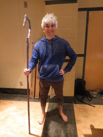 Cosplay de Jack Frost par William Côté