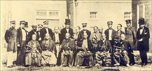 Ambassade japonaise aux Etats-Unis en 1860.