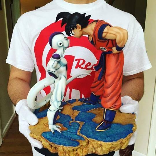 San Goku vs Freeza teasing