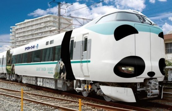 Train Panda Kyoto concept