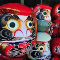 Daruma, un porte-bonheur à la japonaise.