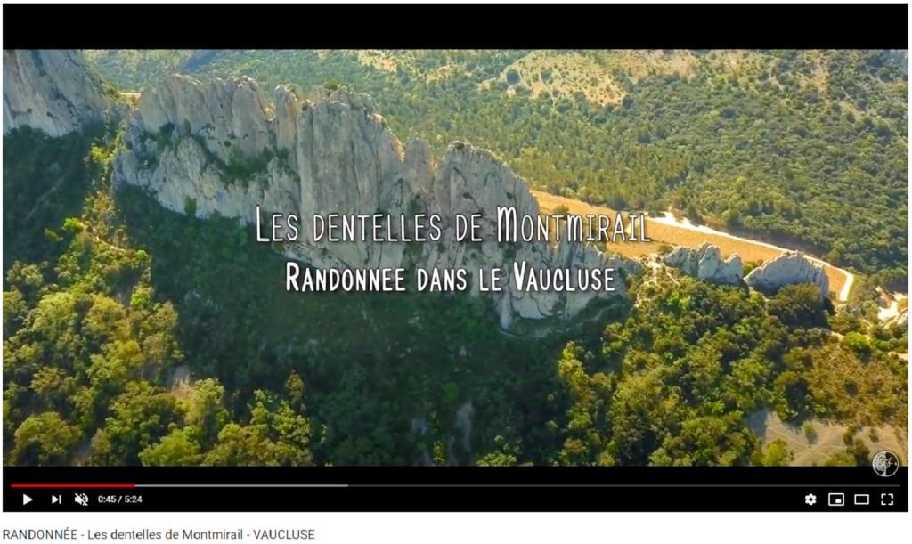 Randonnée aux Dentelles de Montmirail depuis Gigondas Photo Youtube
