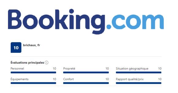 Témoignages Booking