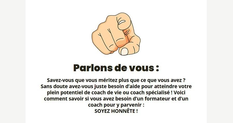 Formation de coach