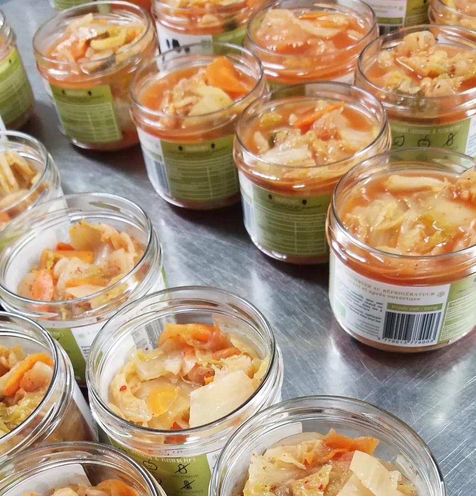 Le Kimchi Les Jarres Crues