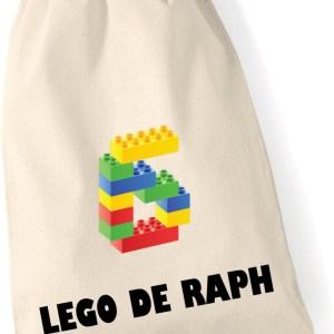 "Sac à jouets ""lego"""
