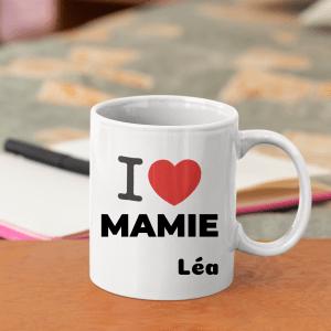 MUG i love mamie