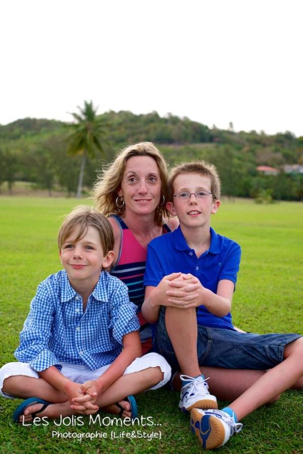 Famille A au Golf des Trois Ilets 12