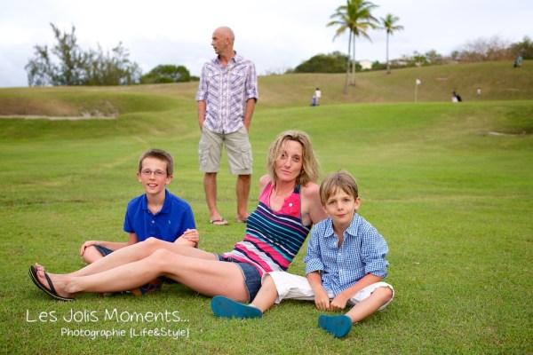 Famille A au Golf des Trois Ilets 13