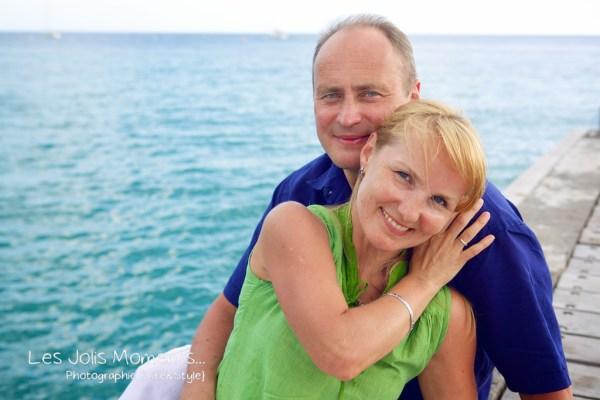 Seance photo touristes russes en Martinique 5