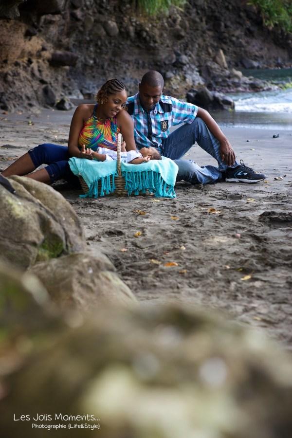 Seance photo bebe anse Noire Martinique 5