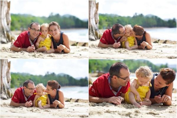 seance famille avec petit garcon Martinique 4