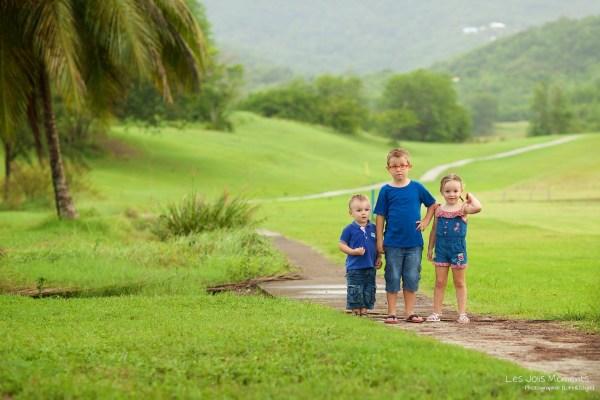 Seance photo enfants fratrie Martinique 52