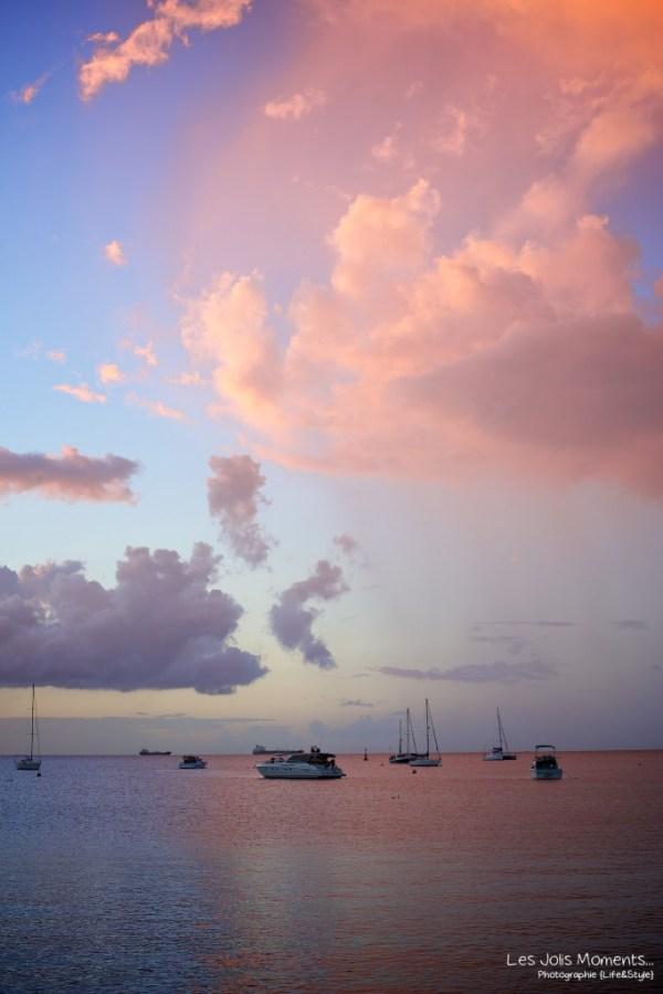 coucher de soleil Anse Mitan (1)
