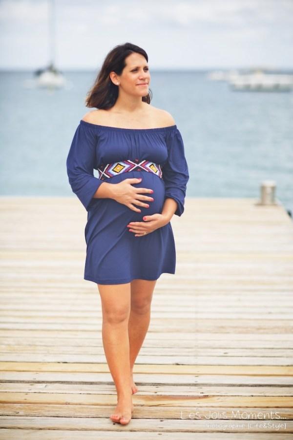 Seance grossesse en famille a la plage Martinique 22