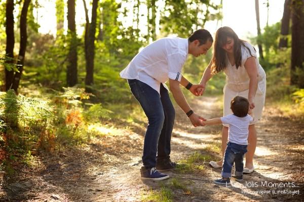 Seance photo famille dans les Landes 28