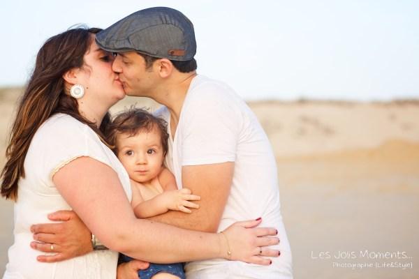 Seance photo famille dans les Landes 40