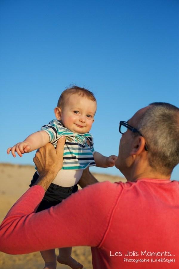 Seance en famille avec bebe dans les Landes 54