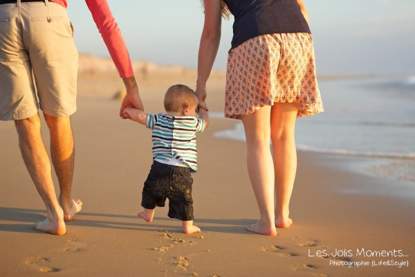 Seance en famille avec bebe dans les Landes 70