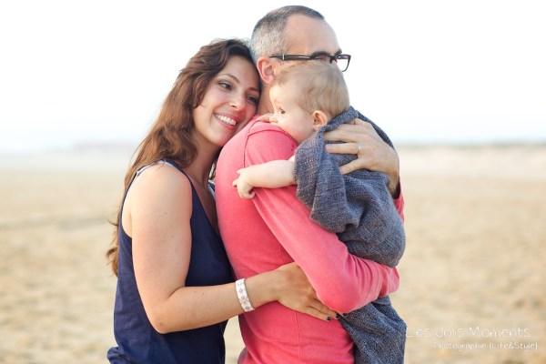 Seance en famille avec bebe dans les Landes 78