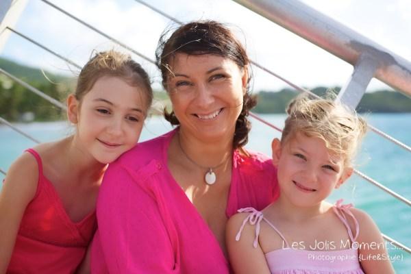 Seances photo en famille en Martinique Diamant 3