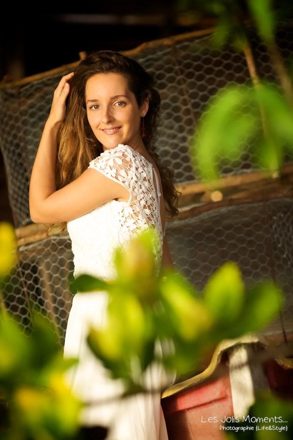 Seance portrait jeune femme martinique 6