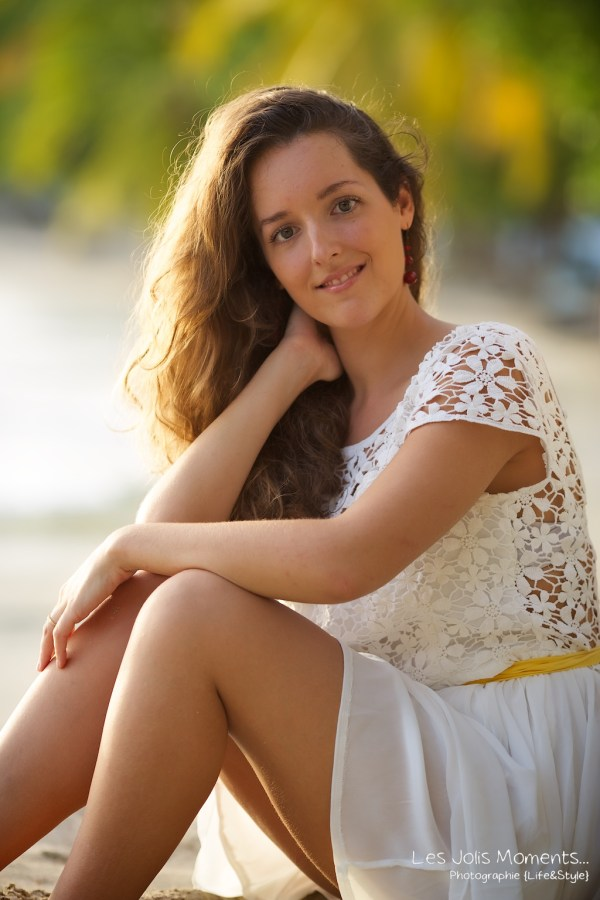 Seance portrait jeune femme martinique 7