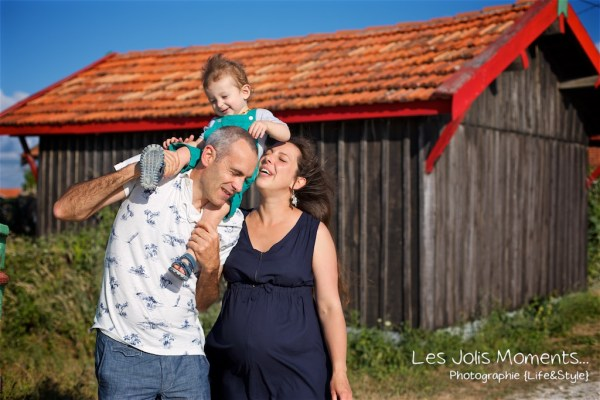 Seance grossesse en famille Bassin Arcachon 11