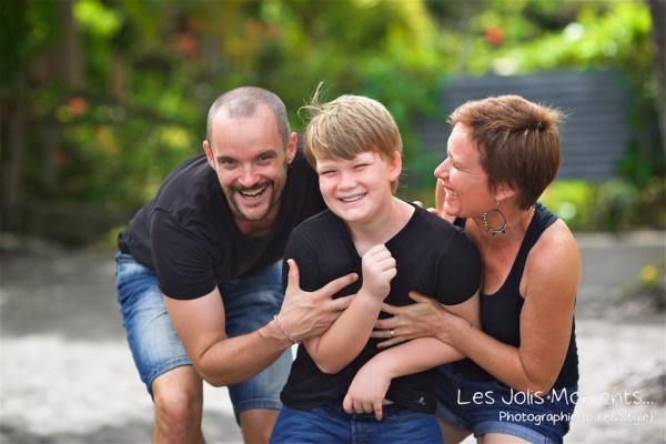 Photos de famille a Anse Noire 12