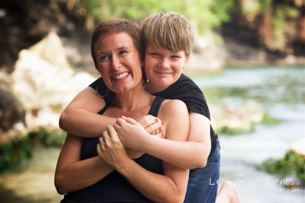 Photos de famille a Anse Noire 16