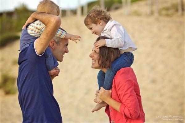 Seance en famille a Moliets 31